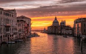 Picture the sky, the sun, sunrise, Venice, sunrise, Venice