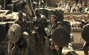 Picture battle, arena, gladiators, Pompeii, Pompeii, voltage, disaster movie