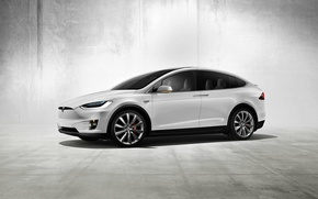 Picture Tesla, Concept, the concept, Tesla, Model X, electric car