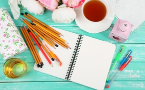 Picture pencils, art, notebook, art, items, drawing