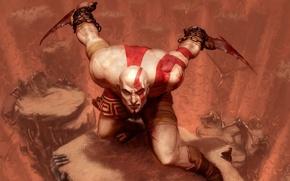 Picture Warrior, Sony, Kratos, Kratos, God Of War, Spartan