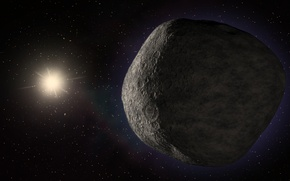 Picture space, stars, flight, the car, The Kuiper Belt