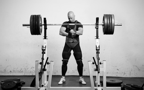 Picture workout, weight lifting, preparations men