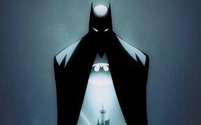 Picture fantasy, Batman, art, comics, artwork, mask, superhero, DC Comics, cloak, Bruce Wayne, cape, Gotham City