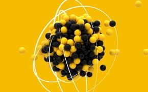 Picture balls, molecule