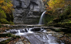 Picture nature, waterfall, eagle falls