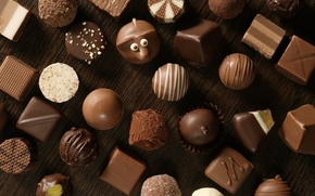 Wallpaper white, chocolate, candy, Black, sweet, chocolate, candy, milk