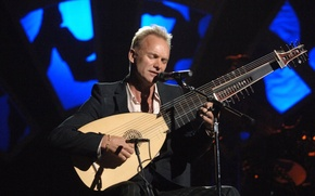 Picture mood, concert, actor, musician, singer, musical instrument, composer, sting, sting