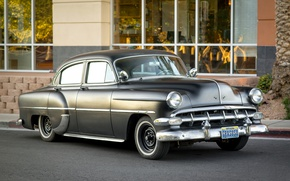 Picture retro, classic, Bel Air, 1954, Chevy