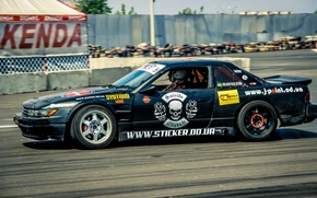 Picture race, tuning, Drift, sticker