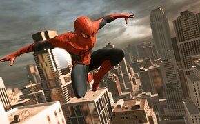 Wallpaper the game, game, The Amazing Spider-Man, New spider-Man