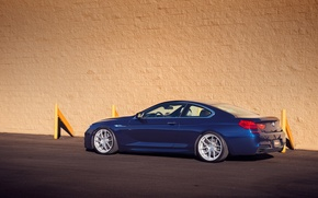 Picture BMW, blue, tuning, coupe, 650i, F13