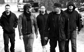 Picture rapcore, nu metal, Limp Bizkit, Fred Durst, John Otto, Sam Rivers, Wes Borland, DJ Lita