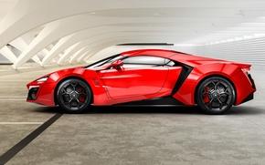 Picture red, 2014, HyperSport, Lykan, W Motors