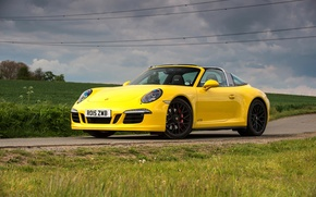 Picture 911, Porsche, Porsche, GTS, UK-spec, 991, 2015, Targa 4