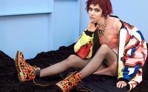 Picture musician, photoshoot, Grimes, Nylon, canadian singer, Grimes