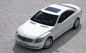 Picture coupe, Mercedes Benz, CL600