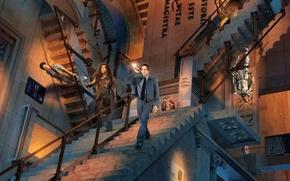 Picture sword, gun, lion, colt, staircase, revolver, watch, Owen Wilson, cowboy, roman, uniform, Ben Stiller, Ben …