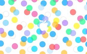 Picture circles, Apple, Apple, iphone, ipad, EPL, Apple, ios, ios 7