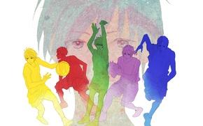 Picture art, team, guys, Kuroko's basketball, Kuroko from the Baske