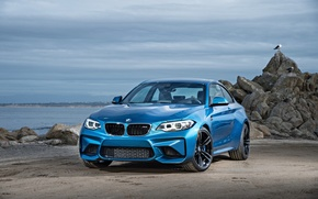 Wallpaper F87, blue, Coupe, BMW, BMW, coupe