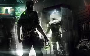 Picture gun, weapons, knife, agent, equipment, Sam Fisher, costumes, monitors, crossbow, Sam Fisher, Ubisoft Montreal, Tom …