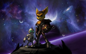 Picture Game, Space, Fiction, Ratchet & Clank