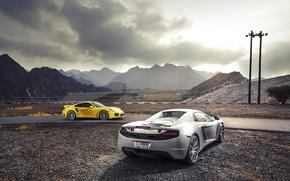 Picture 911, Porsche, McLaren, Porsche, Spyder, MP4-12C, Turbo, Supercars, Supercars, Mclaren