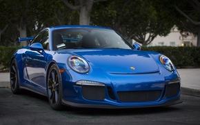 Picture 911, Porsche, blue, GT3, 2013