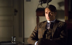 Picture costume, Dr., actor, the series, men, character, Hannibal Lecter, Mads Mikkelsen, Hannibal, Hannibal, NBC, TV …