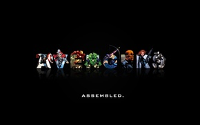 Picture background, Marvel Comics, The Avengers, The Avengers