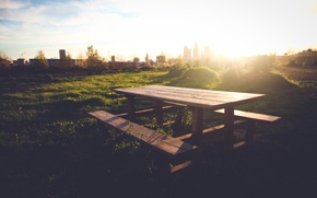 Picture greens, grass, trees, bench, nature, background, widescreen, Wallpaper, mood, foliage, home, meadow, shop, wallpaper, table, …