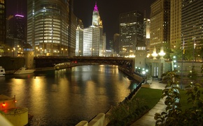 Wallpaper city, the city, USA, Chicago, Illinois