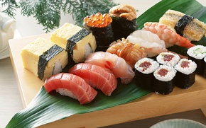 Picture food, sushi, rolls