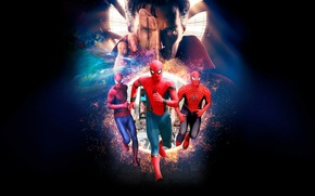 Picture spider man, the amazing spider man 2, spider man:homecoming