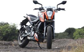 Picture KTM, Duke, beast, duke200, orange machine, ktmduke, readytorace