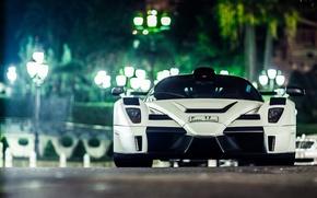 Picture white, Ferrari, white, Ferrari, Gemballa, Enzo, tuning