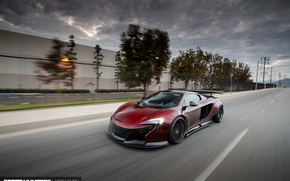 Wallpaper speed, road, MP4-12C, Liberty Walk, McLaren