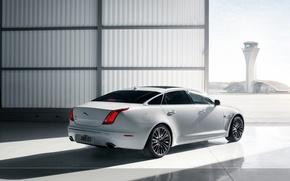 Picture Jaguar, Auto, White, Sedan, Car, Drives