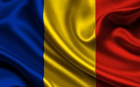 Picture flag, romania, Romania