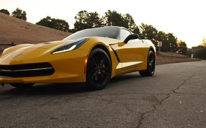Picture Corvette, Chevrolet, Road, Z51, Singray