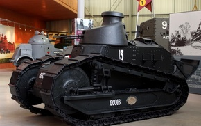 Picture serial, Renault FT-17, Renault FT-17, first, light tank, French