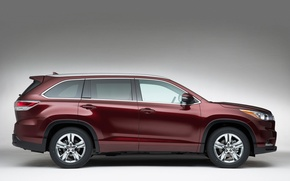 Picture Toyota, Highlander, crossover, Toyota, side view