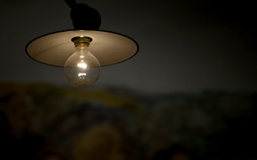 Picture background, the darkness, lamp