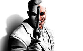 Picture revolver, Batman Arkham City, Two-faced, Two-Face