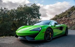 Picture Green, Mclaren, 570s, Super car