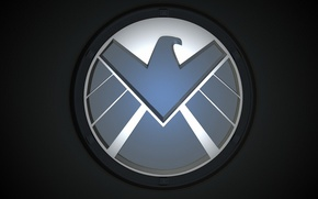 Picture logo, Marvel, eagle, series, falcon, The Avengers, S. H. I. E. L. D., Agents of …