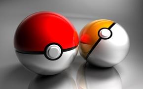 Wallpaper ball, Pokemon, sphere