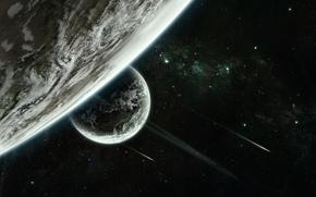 Picture stars, planet, sci fi