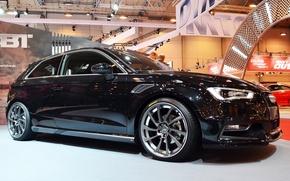 Picture Audi, Audi, blue, ABBOT, ABT, audispotrs